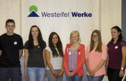 Westeifel Werke begrüßen neue Auszubildende