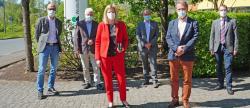 Landrätin Julia Gieseking besucht die Westeifel Werke