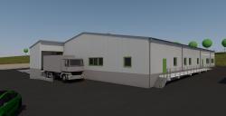 Neubau einer Produktionshalle der gemeinnützigen Westeifel Werke GmbH der Lebenshilfen Bitburg, Daun, Prüm