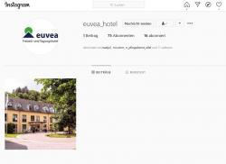 euvea-Hotel aktiv auf Social Media