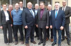 Gesellschafterversammlung der euvea gGmbH verabschiedet Werner Rätz