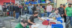 Projekttag der Deutschen Post DHL bei den Westeifel Werken in Gerolstein