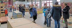 Schüler der Kaiser-Lothar-Realschule plus besuchen Westeifel Werke in Weinsheim
