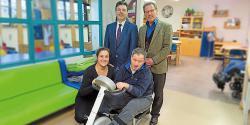 """""""Zahngold für soziale Zwecke"""" – 3.000 Euro Spende zugunsten von Menschen mit Behinderung"""