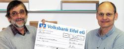Westeifel Werke erhalten 300 Euro-Spende der Ortsgemeinde Mirbach