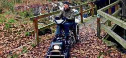 Mit dem Rollstuhl ins Gelände