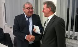 EuWeCo gGmbH verabschiedet Werner Rätz