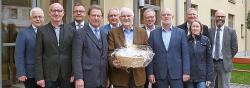 Westeifel Werke verabschieden Karl-Heinz Thommes in den Ruhestand