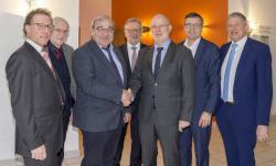 Westeifel Werke verabschieden Vorsitzenden des Verwaltungsrates und Prokuristen