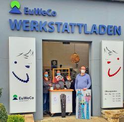 EuWeCo Werkstattladen startet Fensterverkauf