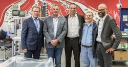 Gerald Schmitz zu Besuch bei den Westeifel Werken in Gerolstein