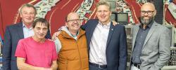 Hans Peter Böffgen besucht Westeifel Werke in Gerolstein