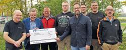 FC Rommersheim spendet 400 Euro an Westeifel Werke
