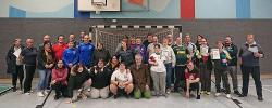 Erfolgreiches Team: Jährliches internes Tischtennis-Turnier in Hermesdorf 2020 mit 34 Teilnehmerinnen und Teilnehmern