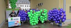 """""""100 % natürlich"""" – euvea und die-ballondrucker.de nehmen an Rosenmontagszug in Neuerburg teil"""